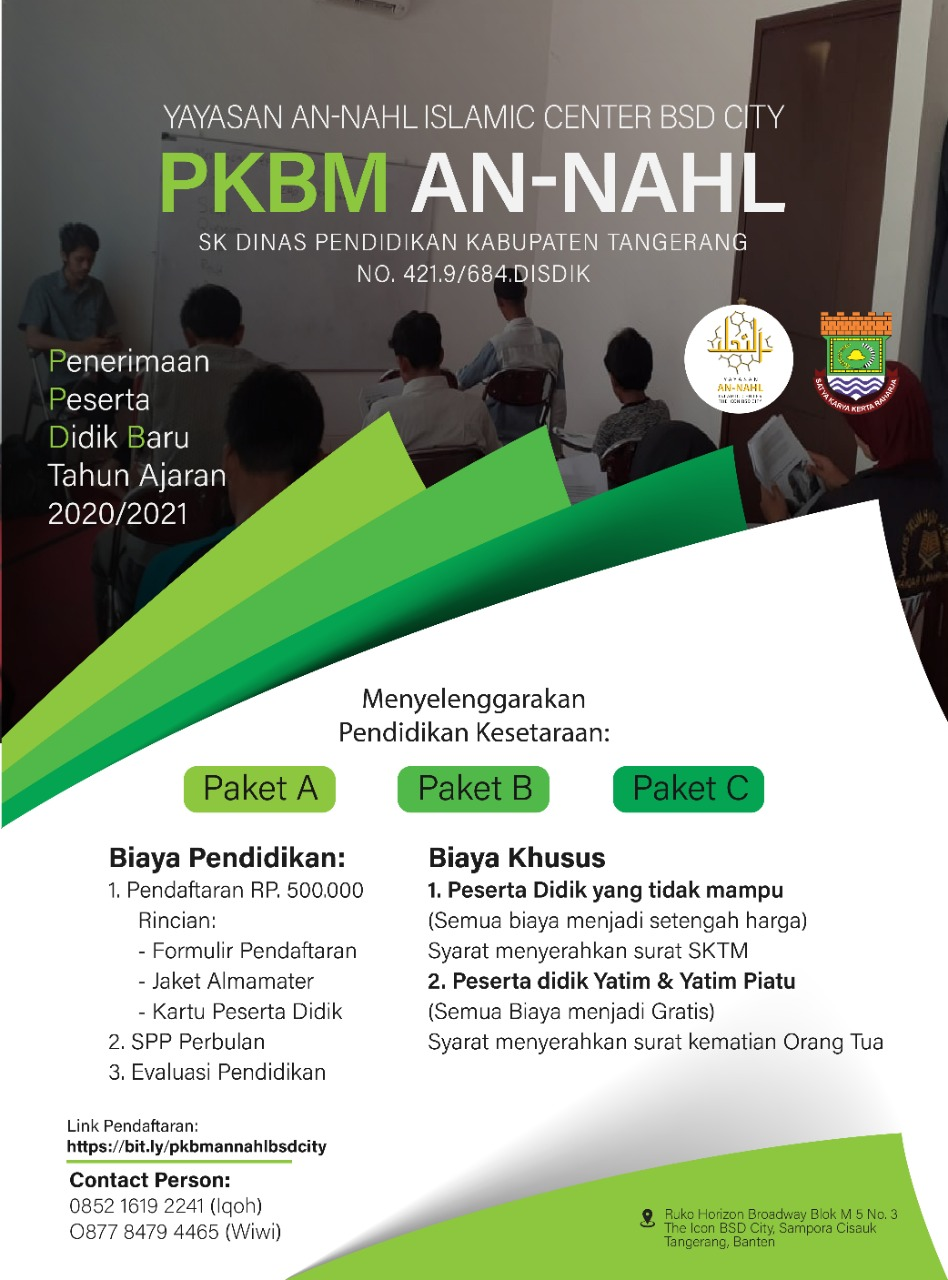PKBM AN – NAHL BSD CITY