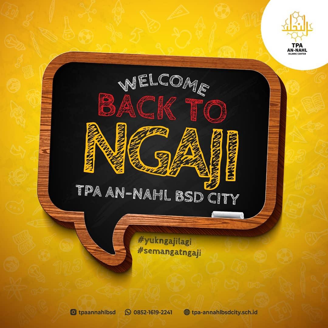 WELCOME BACK TO NGAJI